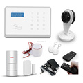 WIFI App control cordless GSM wireless home security alarm system(007M2FX)