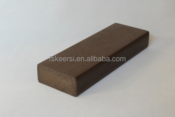 Wood Texture Surface Plastic Decking