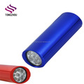 9 LED Aluminum flashlight torch with 3AAA