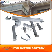 List Of Plastic Products Free Sample Wanael Square 5.2Inch 7Inch Rain Gutter Hooks, Pvc Drainage Pipe