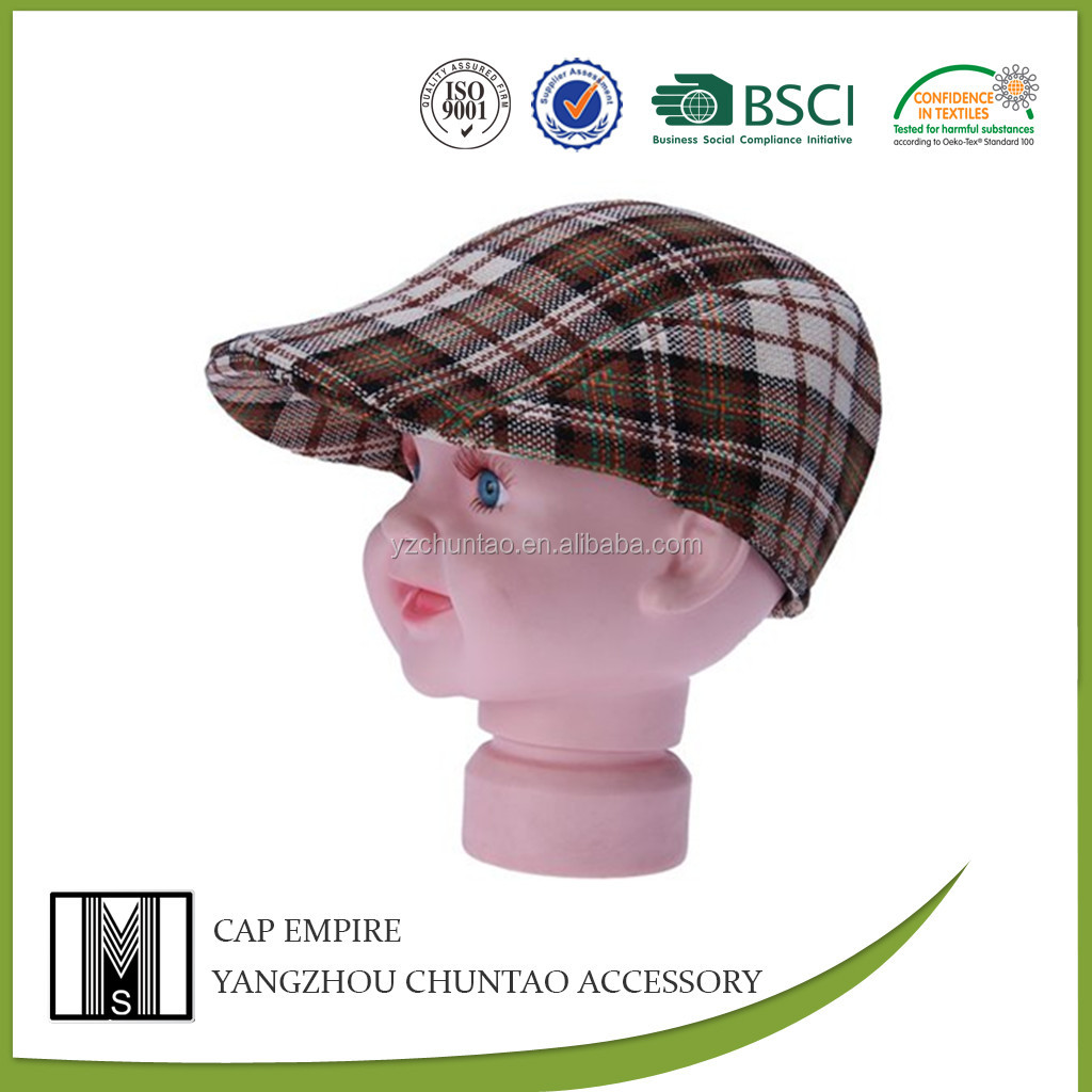 BSCI Audit kids beret cap manufacturer