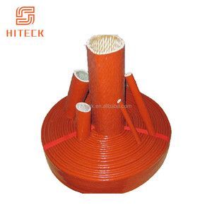 Hot flexible elastic protect hoses silicone high temp. resistant fire sleeve factory sale