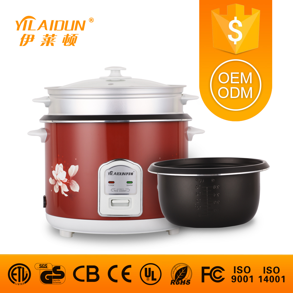 Battery operated kitchen appliances red digital mini rice cooker