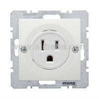 NEMA SOCKET- B.1 POLAR WHITE, Matt White