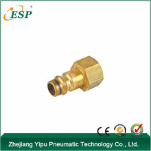 ESP high quanlity brass pneumatic quick coupler for tube