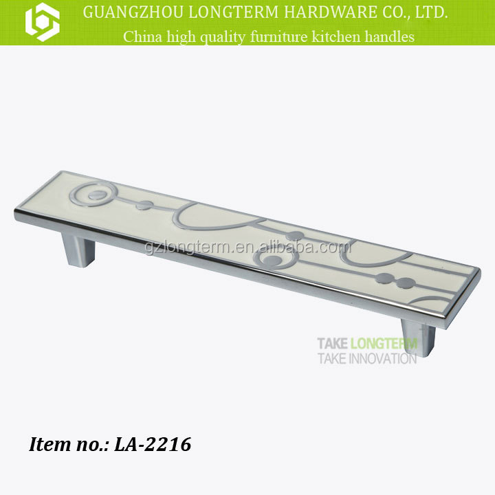 New fashion design zinc alloy acrylic handles for furniture.