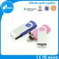 High speed USB 3.0 flash drive otg USB stick swivel otg USB pendrive wholesale