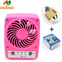 Wind energy mini electric fan cartoon cute fashion portable fan for outdoor