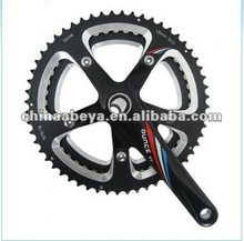 46T / 52T bicycle chainwheel and cranks