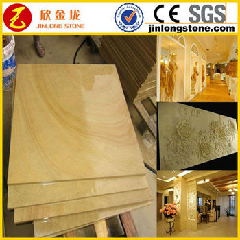 30*60 Beige Limestone Tile Honed Polished Surface