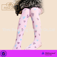 2014 latest children's jacquard pantyhose