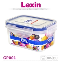 easy lock food grade small plastic containers with seal lids
