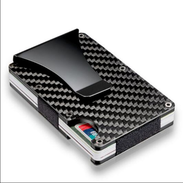credit card holder with money clip