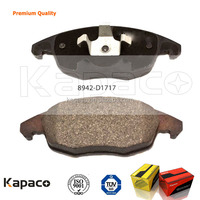 Kapaco NAO QUALITY Car Brake PAD D1717-8942 for Citroen Peugeot