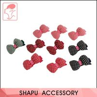 Decorative Colorful Hairgrips Fancy Fabric Kids Baby Hair Bow Hair Clips