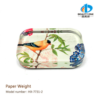 HX-7731 Dome Glass Paperweight Crystal