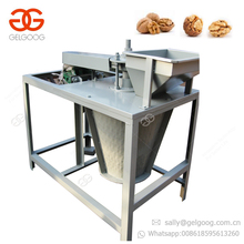 Professional Automatic Walnut Shell Breaker Removal Cracker Peeling Pecan Nut Sheller Black Walnut Cracking Machine For Sale