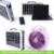 Compact solar power box solar lighting system low price list