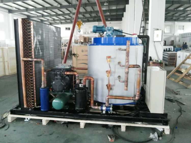 BTK series large air ice maker machine