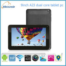 9 inch alwinner A23 Dual Core android 4.1.1 free 3d games tablet pc