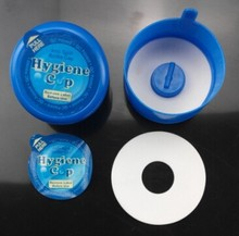 non-spill food grade plastic bottle caps with seal label for 5 gallon water bottle