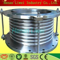 DN300 Stainless steel bellows exhaust expansion joint with high performance