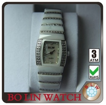 new products !!! good quality bold design luxurydiamond watch white