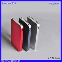 Shenzhen Factory Offer Hot Sale 8000mAh Cellphone Power Bank Charger Powerful Power Bank