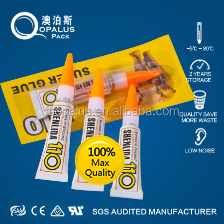 Acrylic Material , 5ml/per Super Glue for PVC plastic /Leather /Ceramic /Hardware / Ads etc