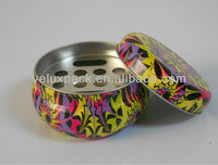 Cigarette/ Cigar Ashtray Tin Box with Irregular Shape