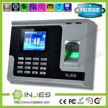 HOT Selling Fingerprint Employee Linux TFT screen WIFI GPRS online time worked calculator