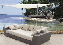 outdoor lounge Bed design furniture for sale