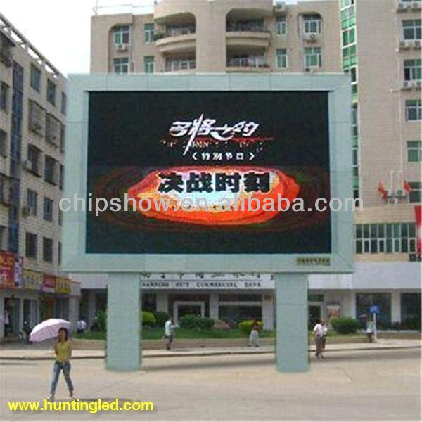 p10 outdoor full color LED screen display advertisement media