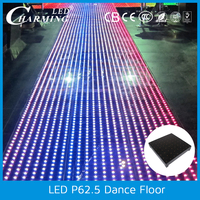 2016 alibaba charming Led disco video dance floor DJ equipment