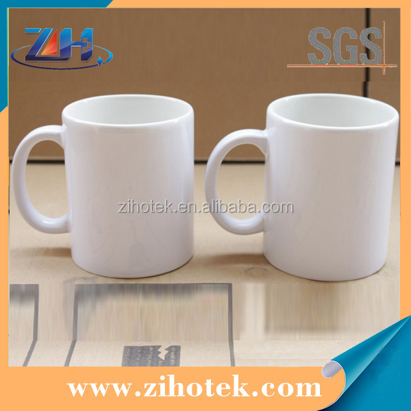 Mug Heat transfer printing 11oz sublimation cups customized cups printing