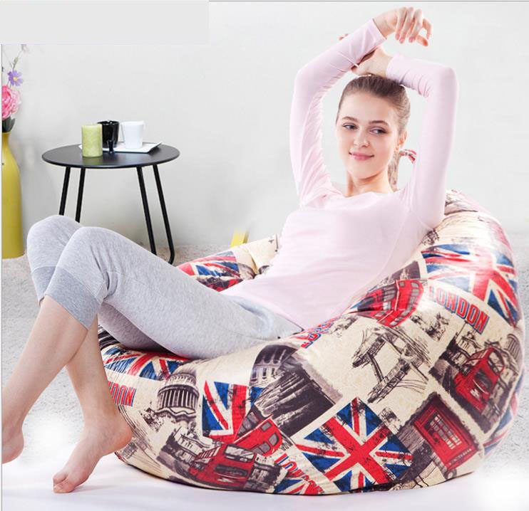 Home Furniture Comfortable Colourful Bean Bag chairs