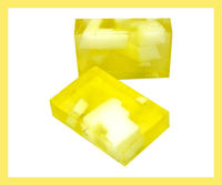 Natural lemon soap,lime soap