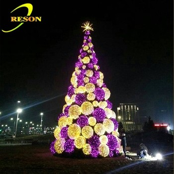 Project Decorative Giant Outdoor Led Lighted Christmas Tree