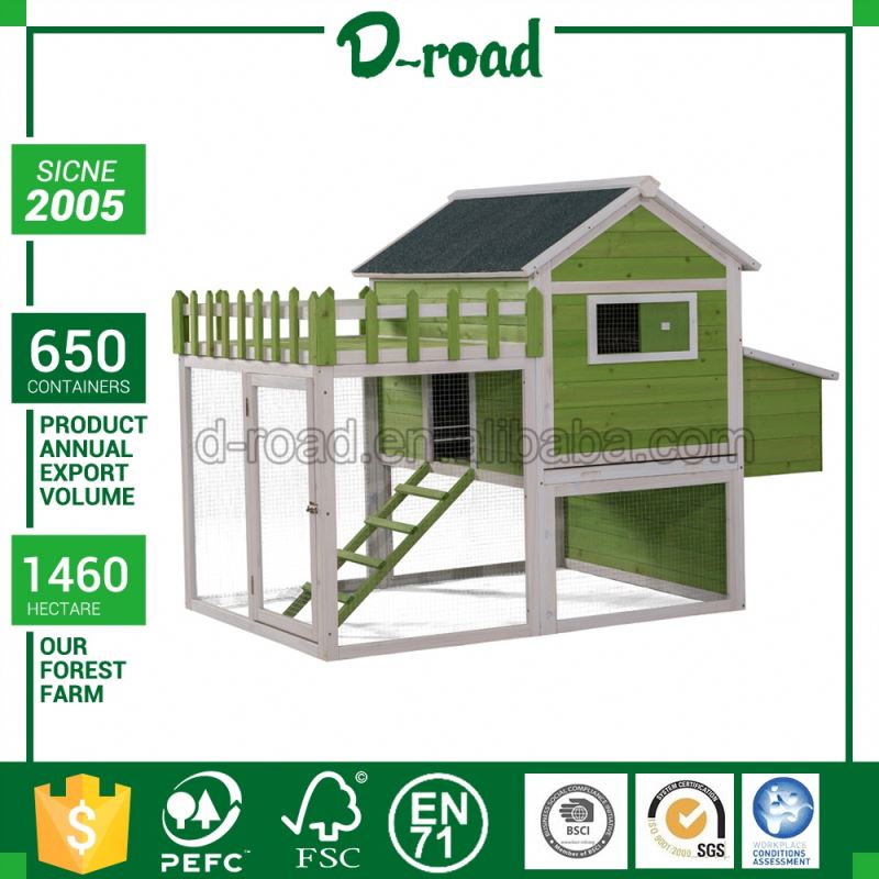 Latest Design Custom Color Cheap Chicken Wooden Pet House