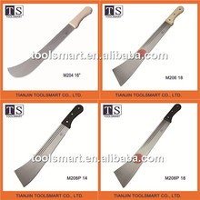 high quality MATCHET machete Cane knife sugarcane knife cutlass knife grass slasher