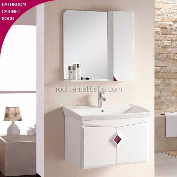 ROCH 2003 New Style Solid Wood Bathroom Cabinet Furniture Bath Vanity