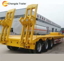 hot sell 35ton 3 axles 4 axles low loader low bed trailer price low bed price for sale