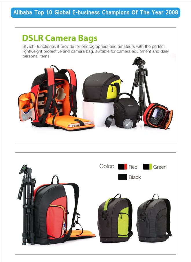 vintage camera bag,trendy dslr camera backpack