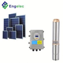 12 LPM 24 volt 100M Lift dc deep well solar submersible water pump system/price solar water pump for agriculture