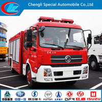 6000L DONGFENG Fire Truck 6X4 dongfeng fire eacape truck 4X2 dongfeng water curtain fire fighting