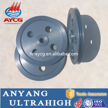 high quality wear resistance roller bearing U groove pulley
