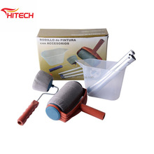 Hitech 6 PCS/Set Paint Roller Brush Room Wall Painting Runner Decor Painting Tools Kits