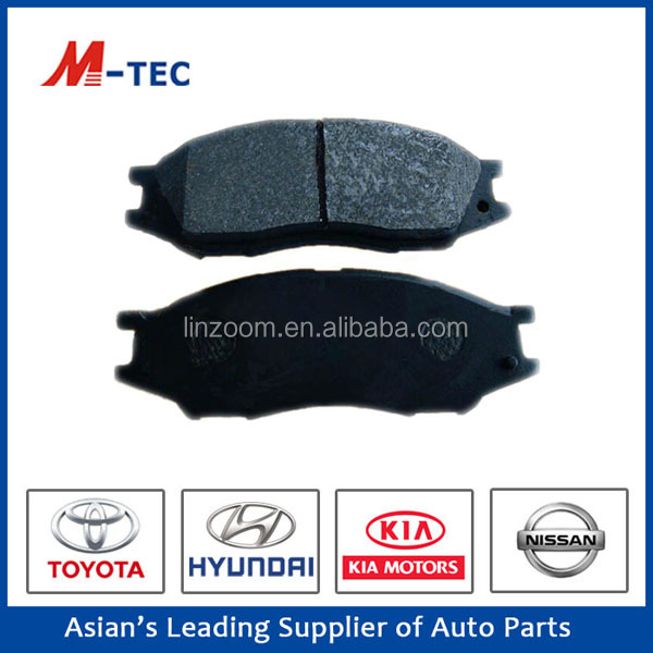 high performance auto car brake pad for mitsubishi pajero