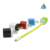 Factory bulk sale colorful USB charger adapter USB wall plug for cell phone