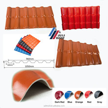 Diversified Colors hot sale Plastic PVC Roof Sheet Roofing Tile/ Wall Panel
